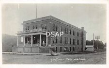 Iowa Ia Postcard Real Photo RPPC 1920 PRIMGHAR Hub Hotel Building