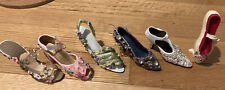 Miniature Shoes Lot of 6 CollectableNostalgia by Popular Imports Ballet
