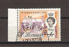 BERMUDA 1970 SG 232W USED Cat £50