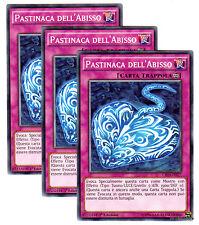 Set 3x PASTINACA DELL' ABISSO CROS-IT077 Comune in Italiano YUGIOH
