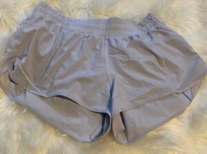 Lululemon lilac or french clay hotty hot shorts 10. 2.5 inch inseam free ship