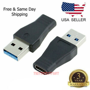 USB 3.1 Type C USB-C Female to USB 3.0 Male Port adapter Type-A Card Converter
