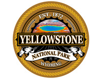 Yellowstone National Park Sticker 3 Inch Laptop Decal Apparel