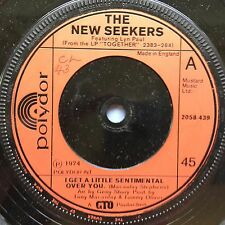 The New Seekers - I Get A Little Sentimental Over You - Polydor 2058-439 Ex