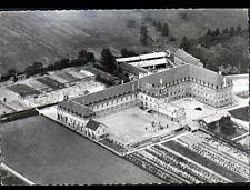 PUTANGES (61) ORPHELINAT de GIEL animé , vue aérienne période 1950-1960