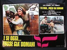 FOTOBUSTA CINEMA - E SE OGGI FOSSE GIA' DOMANI - D. HEMMINGS - 1973 - HORR/DRAMM