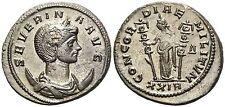 Impero Romano Severina Concordiae Antoniano Bronzo e Argento 4,37 gr. / 22 mm.
