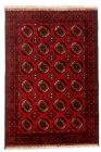 """Vintage Hand-Knotted Carpet 3'4"""" x 4'11"""" Traditional Oriental Wool Area Rug"""