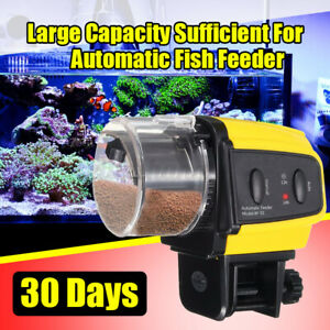 Adjustable Aquarium Automatic Fish Food Feeder Feeding Timer For Fish Tank