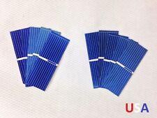 10x Untabbed 52x19mm Grade B Polycrystalline Solar Cell Panel PV Wafer USA