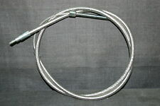 """HARLEY SPORTSTER CLUTCH CABLE BRAIDED 12"""" OVER STOCK XL 1971-85"""