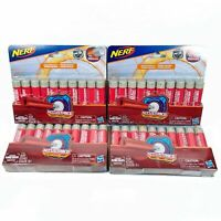 Official Nerf N-Strike Mega AccuStrike Series 10-Pack Refill Lot of 4 - 40 Darts