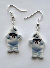 Stay Puft  Marshmallow Man Earrings Ghostbusters  Movie