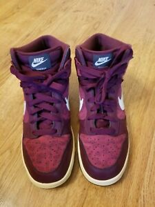 Nike Dunk High 'Leopard' 342257-613 Red/Dark White Women Shoes Size 9.5