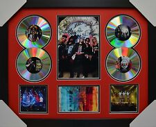 GUNS AND ROSES 4CD SIGNED FRAMED MEMORABILIA LIMITED EDITION