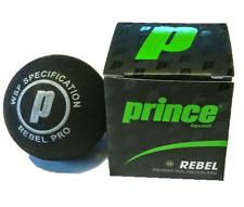 Prince Pro Rebel Single Yellow Dot Squash Balls (1) New In Box