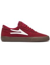 Lakai Manchester Shoe   Red/Gum Suede
