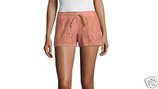 "Rewind 3"" Lace Soft Shorts Juniors Size S, M, L, XL New Msrp $40.00 Clay"