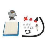 Carburetor For Briggs & Stratton Primer Bulb 799866&790845 Air Filter Spark Plug