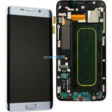 For Samsung Galaxy S6 Edge+ Plus SM-G928F LCD Display Touch Screen+Frame Silver
