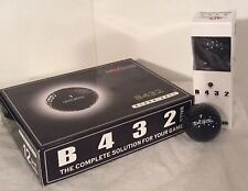 B432 The Ultimate Black Golf Balls by Neutron Brand New 1 Dozen Rare