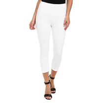 LYSSE Britt Stretch Twill Ankle Pant White Size XL