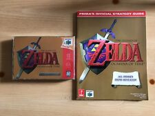 Legend Of Zelda: Ocarina Of Time Collector's Edition (N64) Gold CIB W/ GUIDE