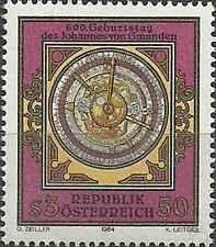 Timbre Cosmos Autriche 1622 ** lot 19357