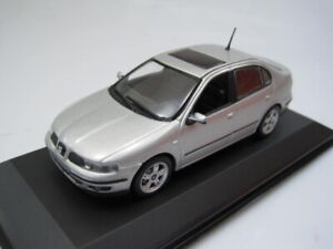 Seat Toledo II 1M Gris Metal V5 433058403 - Minichamps 1/43 cochesaescala