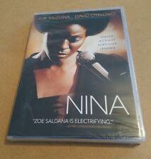 Nina (DVD, 2016) Zoe Saldana Simone biography movie film soul music NEW
