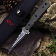 "New! Mtech 7.5"" Full Tang Stonewash Green G10 Handle Bodyguard Dagger Knife"