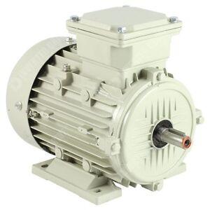 TECO 3 Phase Electric Motor 2 Pole 3000RPM Aluminium