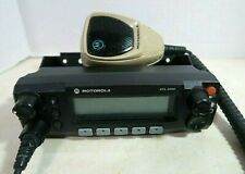 Motorola Xtl2500 M5 Remote Control Head With Bracket And Hmn1090a Microphone
