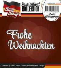 Amy Design Schablone Frohe Weihnachten ADD10060