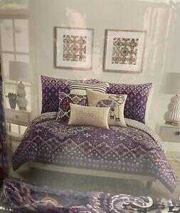Vera Bradley Dream Tapestry Comforter Set, Full/Queen, Purple