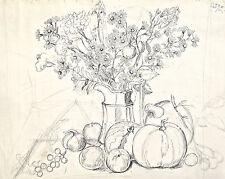Dorothy Eaton Drawing (XLIX) Still Life