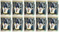 (10) 1991-92 Score Young Superstars Hockey #18 Mark Tinordi Card Lot North Stars