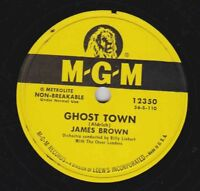 James Brown – 78 rpm MGM 12350: Ghost Town/Forward Ho; Cond N-
