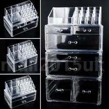 Beautify 5 Tier Clear Acrylic Cosmetic Makeup Organiser Storage Box 7 Drawers