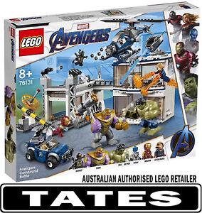 LEGO 76131 Avengers Compound Battle - Marvel Super Heroes Avengers Endgame fr...