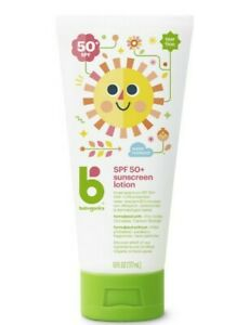 Babyganics Sunscreen SPF 50+  6oz- 2 Pack New