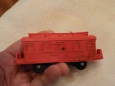 Vintage Stavenger Norway - Passenger Car - Soft Rubber
