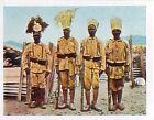 Soldiers Uniforms Askari east Africa Deutsches Heer WWI WELTKRIEG 14/18 CHROMO