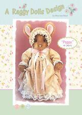 POPPY RABBIT - Sewing Craft PATTERN - Cloth Rag Doll Bunny Bunnies