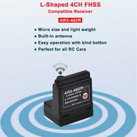 ARX-482R Receiver Compatible With SANWA FH3 FH4T 4CH RC System for RC Car