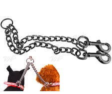 Double Dog Puppy Coupler Leash 2 Ways 2 Pets Walking Safety Twin Lead Pet Chain