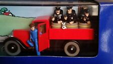 Voiture Tintin ATLAS 41 INTERNATIONAL Le Camion de Police de Chicago CVMC8/17