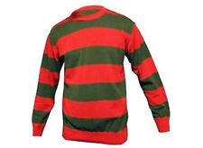 Fancy Dress Freddy Krueger Nightmare Sweater Glove Horror Jumper Halloween