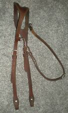 New listing NICE Champion Turf Shaped Ear Leather Headstall Bridle Horse Tack