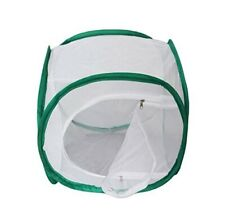 12in x 12in x 12in White Mesh Enclosed Butterfly Praying Mantis Hatching Cage